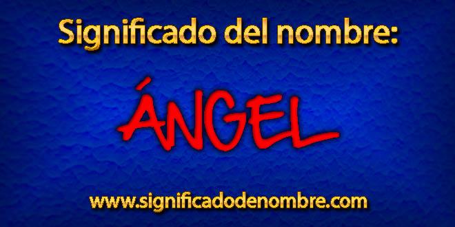 Significado de Ángel