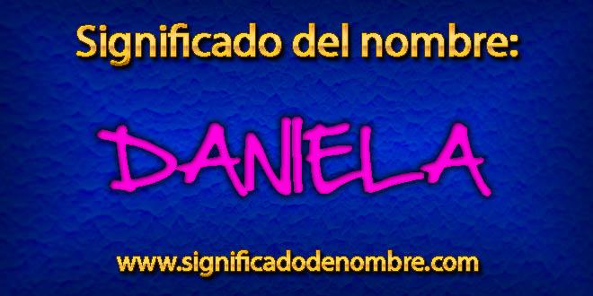 Significado de Daniela