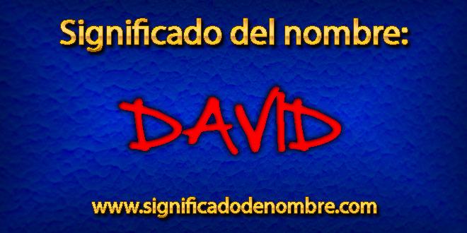 Significado de David
