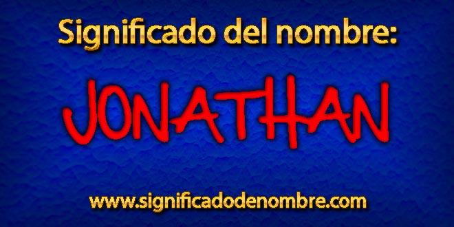 Significado de Jonathan