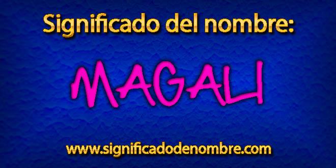 Significado de Magali