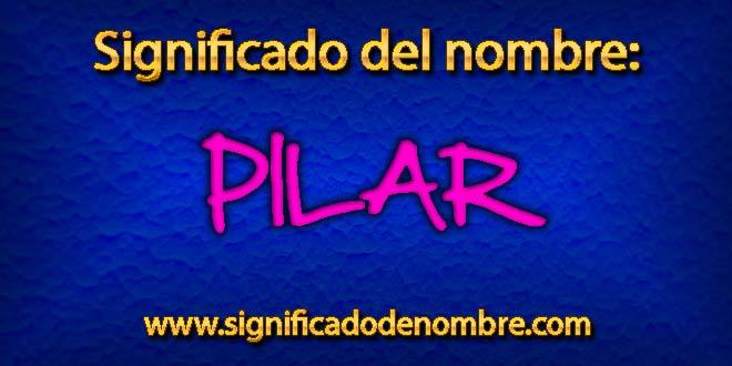 Significado de Pilar
