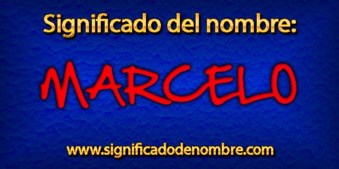 Significado de Marcelo
