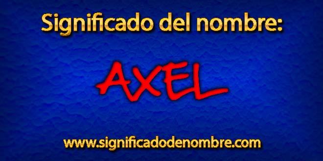 Significado de Axel