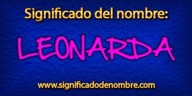 Significado de Leonarda