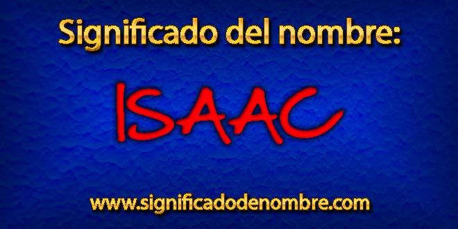 Significado de Isaác