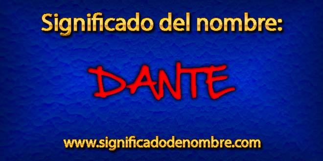 Significado de Dante