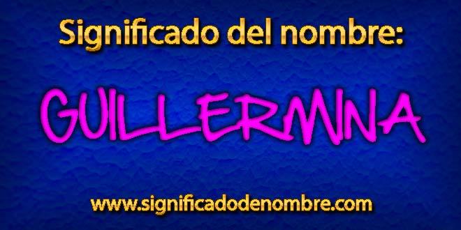 Significado de Guillermina