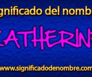 Significado de Katherine