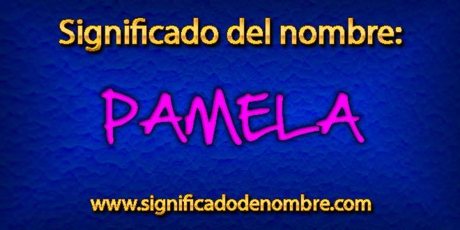 Significado de Pamela