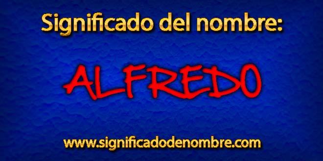 Significado de Alfredo