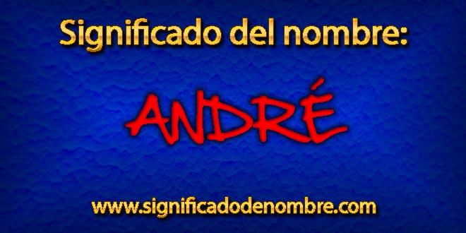 Significado de André