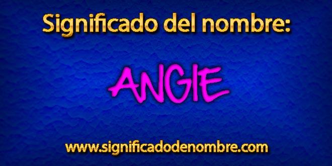 Significado de Angie