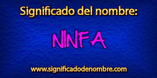 Significado de Ninfa