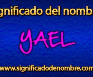 Significado de Yael