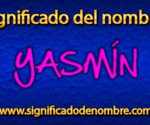 Significado de Yasmín