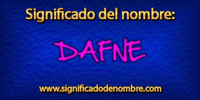 Significado de Dafne