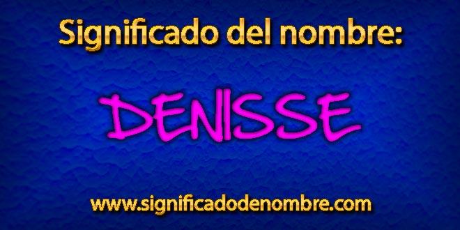 Significado de Denisse