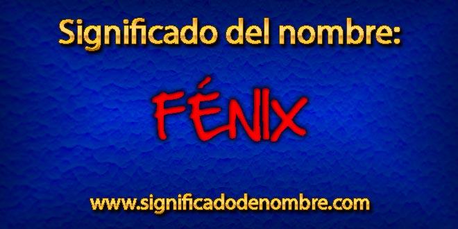 Significado de Fénix