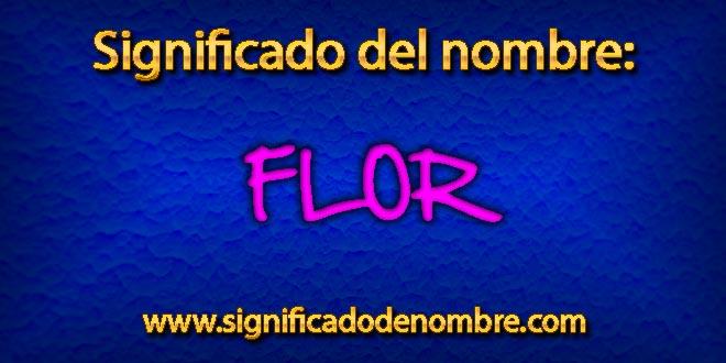 Significado de Flor