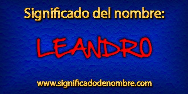 Significado de Leandro