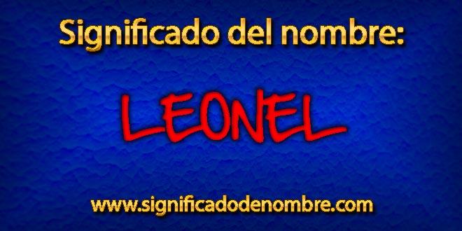 Significado de Leonel