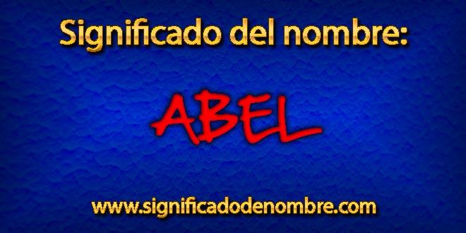 Significado de Abel