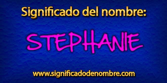 Significado de Stephanie