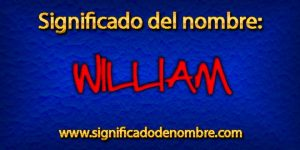 Significado de William