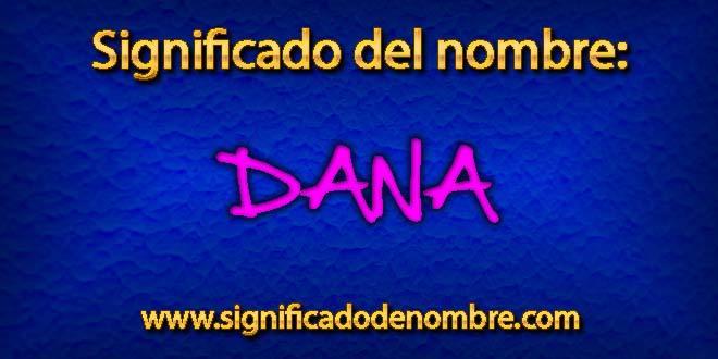 Significado de Dana