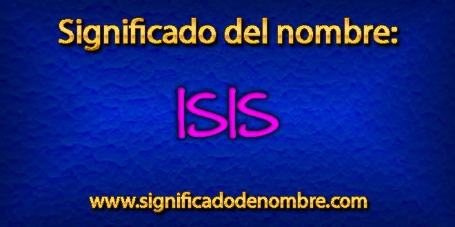 Significado de Isis
