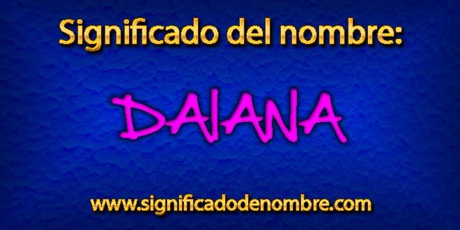Significado de Daiana