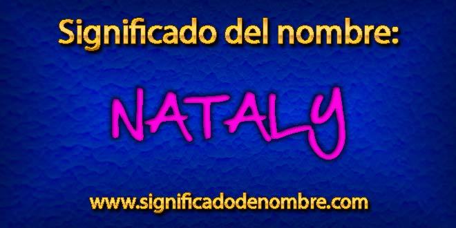 Significado de Nataly