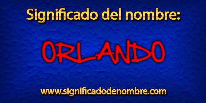 Significado de Orlando