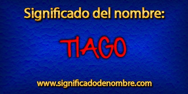 Significado de Tiago