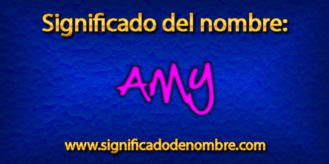 Significado de Amy
