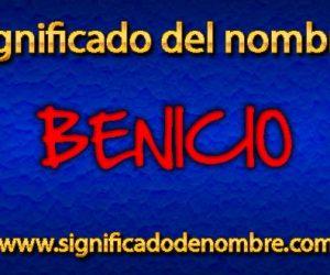 Significado de Benicio
