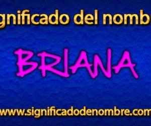 Significado de Briana