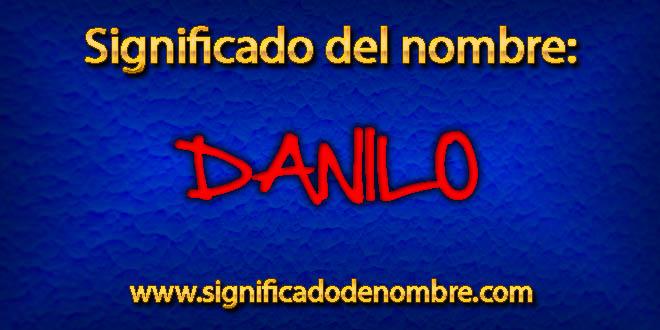 Significado de Danilo