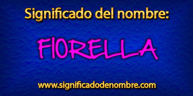 Significado de Fiorella