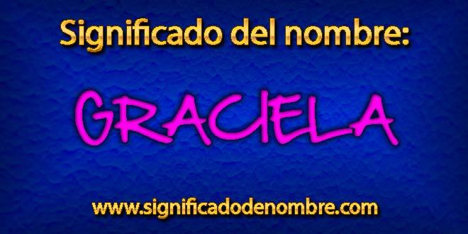 Significado de Graciela