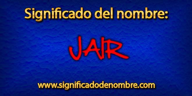 Significado de Jair