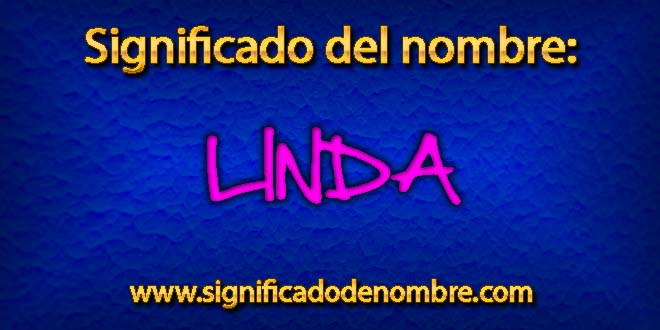Significado de Linda