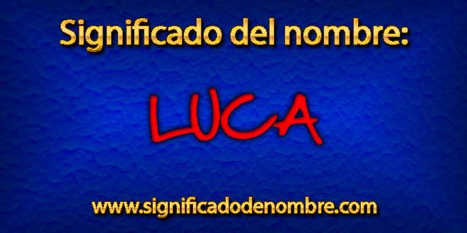 Significado de Luca