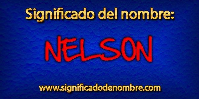 Significado de Nelson