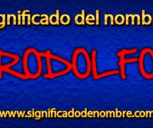 Significado de Rodolfo