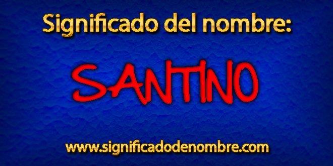 Significado de Santino