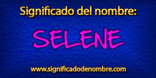Significado de Selene