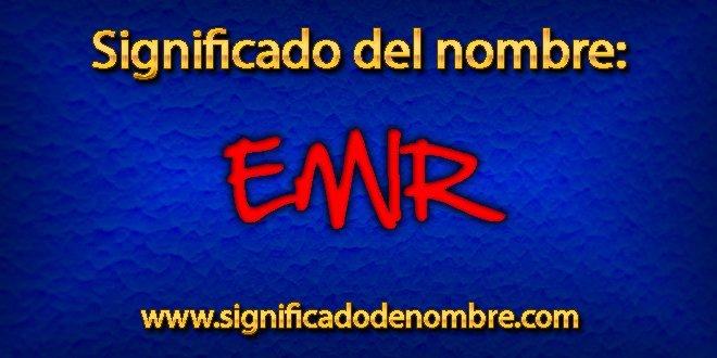 Significado de Emir