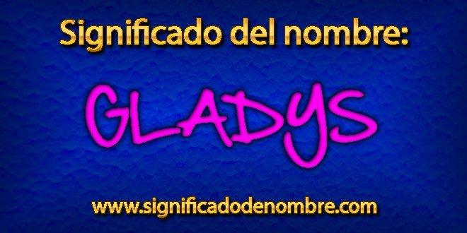 Significado de Gladys